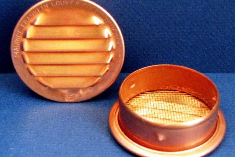Round Copper Louvers